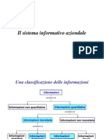 Il sistema informativo aziendale