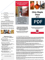 Ohio Maple Days 2013