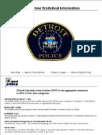 Detroit Homicide Statistics