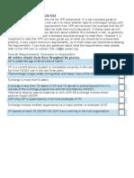 XPP Compliance List