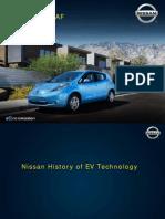 Nissan History of EV Technology