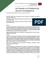 Conocimiento Situado y el Problema de la Subjetividad del Investigador/a