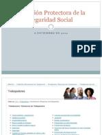 La acción protectora de la Seguridad Social (actualizado a diciembre de 2012)