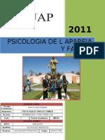 Psicologia de Pareja y Familia 2011