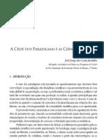 A crise dos paradigmas e as ciências sociais