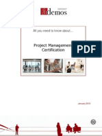 Project Management Certification analysis by Demos Group