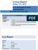 Laporan Kasus PEB + Impending Eklamsia