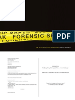 Forensic Speak [Sample]