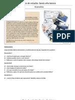 Guía de estudio Economía sexto básico