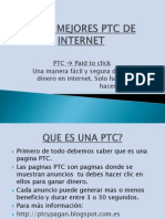 Las 5 Mejores PTC de Internet