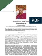 Chöd _ Khenchen Thrangu Rinpoche