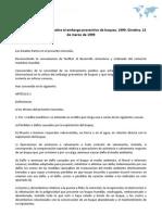 Convenio internacional sobre el embargo preventivo de buques, 1999. Ginebra, 12 de marzo de 1999