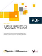 Norton Symantec - Choosing Cloud Provider