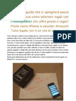 Guida Premi iPhone e Buoni Amazon
