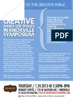 Creative Mixed Use Spaces in Knoxville Symposium - 1/24/2013