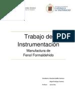 Informe Fenol Formaldehido