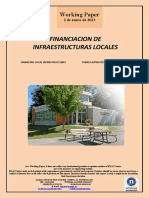 FINANCIACIÓN DE INFRAESTRUCTURAS LOCALES (Es) FINANCING LOCAL INFRASTRUCTURES (Es) TOKIKO AZPIEGITUREN FINANTZABIDEAK (Es)