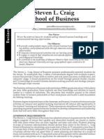 Csb Curriculum Business School