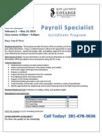 SJC - Payroll Specialist
