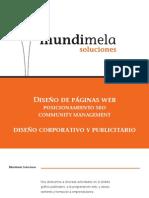Catálogo de servicios de Diseño Web, SEO y Community Manager en Las Palmas