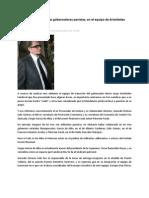 18-12-2012 Ex colaboradores de tres gobernadores panistas, en el equipo de Aristóteles Sandoval