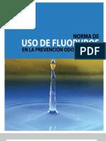 uso de fluoruros