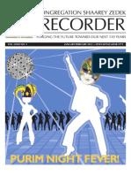 The Recorder 2013 Jan / Feb