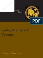 !Gods, Heroes and Tyrants, Greek Chronology in Chaos