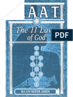 Maat the 11 Laws of God Ra Un Nefer Amen Cropped