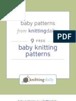 9 Free Baby Knits