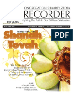 The Recorder 2012 Sept / Oct