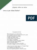 Seferis (Ballesta), Apunts Sobre Un Estiu (1994)