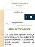 Aplicacion de La Logica Matematica en La Computacion Publicar