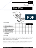 ICT - Box Office Assignment - Student Workbook