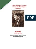 Vol 12 - MARIATEGUI - Obras Completas Cronológicas. 1929. (AUDIOLIBROS)