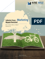 Industry Focus - Marketing Myopia Revisited