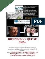 CAPIO A DIFUNDIR SANIDAD PRIVATICIONES