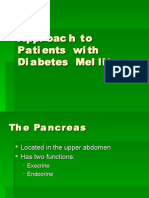 Approach to Patients With Diabetes Mellitus