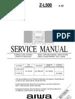 Aiwa CX-ZL500 Manual de Servicio