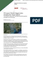 UN report_ World's biggest cities merging into 'mega-regions' _ World news _ The Guardian