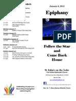 2013 01 06 Bulletin Cover