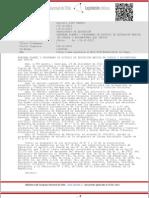 DECRETO 2960 de 2012 - Aprueba Programas y Planes de Estudio.
