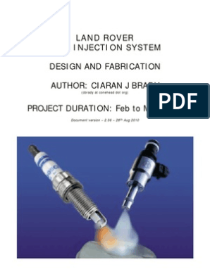 Rover V8 14cux | Fuel Injection | Carburetor