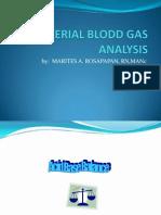 Arterial Blodd Gas Analysis