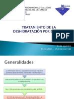 HIDRATACION EN LA DESHIDRATACIÓN POR DIARREA