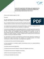 Opinión sobre la competencia de la organización del trabajo para reglamentar las condiciones de trabajo de personas empleadas en la agricultura [1922] Corte Permanente de Justicia Internacional, Ser. B, No. 2