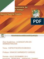 Capacitacion en Mexico