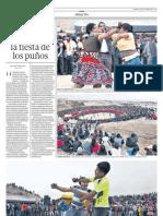 Fiesta del Takanakuy - Arequipa