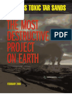 The Most Destructive Project on Earth