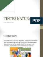 TINTES NATURALES